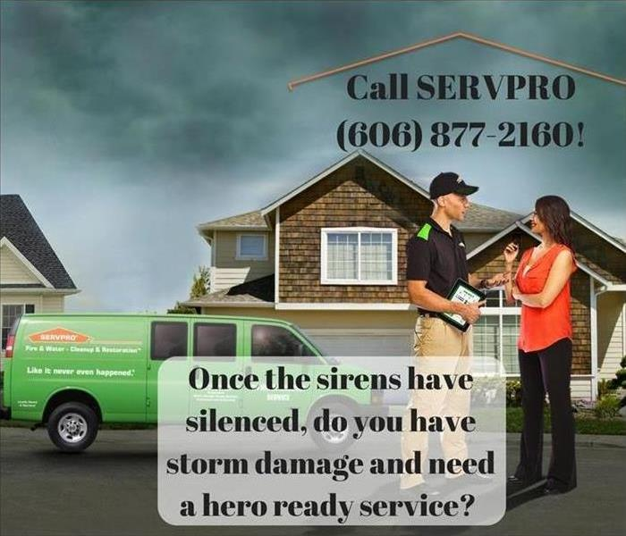 Storm Damage Once the sirens have silenced, do you need a hero ready service for your storm damage?