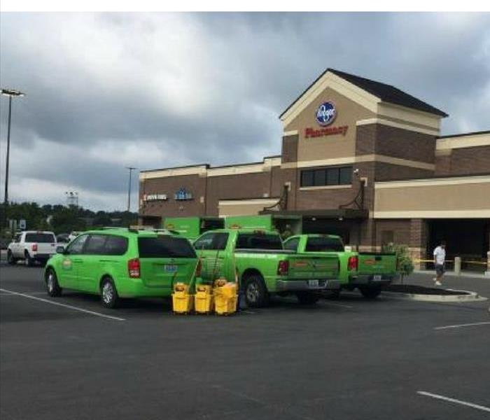 Commercial SERVPRO has come full circle –the grocery store effect.