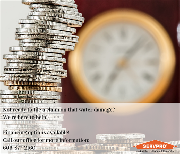 Why SERVPRO We'll keep you from filing that claim!