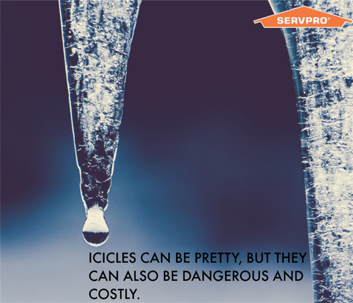 Why SERVPRO Ice Dams Turn Into Water Damage