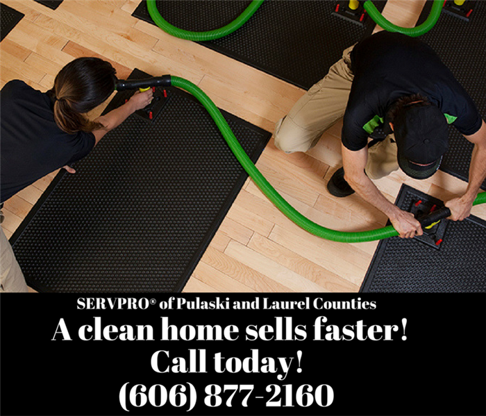 Cleaning There's clean and then there's SERVPRO Clean!